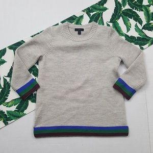 J Crew Triple Tipped Sweater